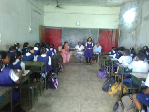 Drawing and Painting competition has been conducted among students