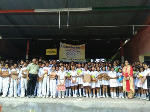 Essay writing competition was organised at DAV PUBLIC SCHOOL BACHRA